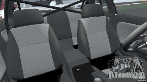 Nissan Silvia S13 Non-Grata [Final] для GTA 4 вид изнутри