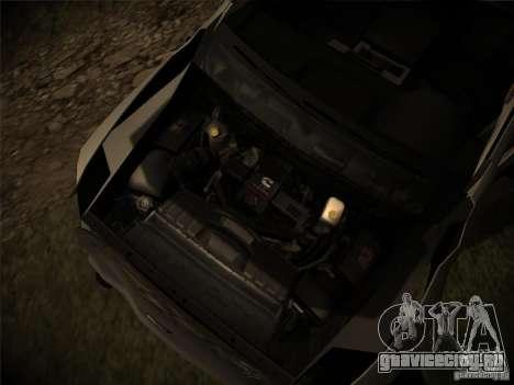 Dodge Ram 3500 4X4 для GTA San Andreas вид сверху