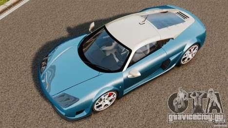 Noble M600 Bicolore 2010 для GTA 4 вид справа