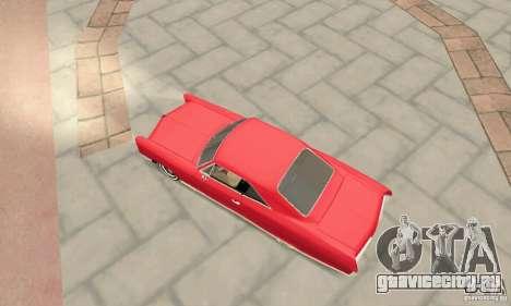 Pontiac Bonneville 1966 для GTA San Andreas вид сзади слева