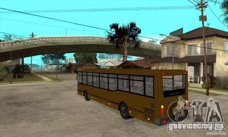 Волжанин 52702 для GTA San Andreas вид сзади слева