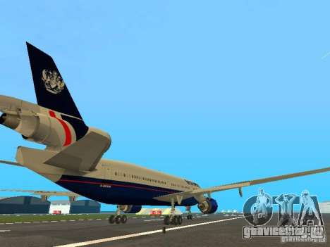 McDonell Douglas DC10 British Airways для GTA San Andreas вид справа