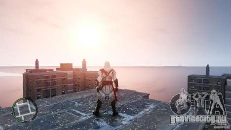 Assassins Creed II Ezio для GTA 4 второй скриншот