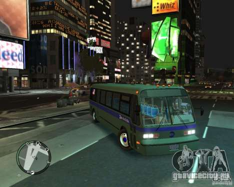 MTA NYC bus для GTA 4