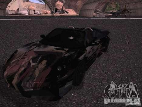 Ferrari F430 Scuderia M16 для GTA San Andreas салон