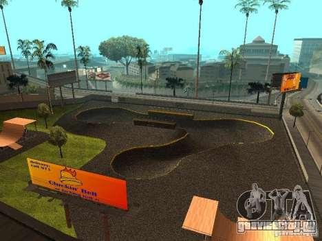 New SkatePark для GTA San Andreas
