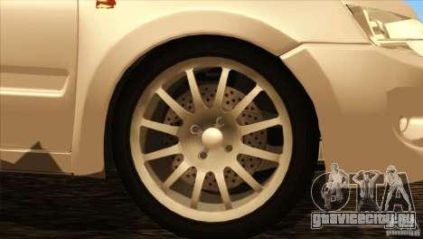 ВАЗ 2190 Гранта для GTA San Andreas вид сбоку
