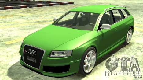 Audi RS6 Avant 2010 Stock для GTA 4