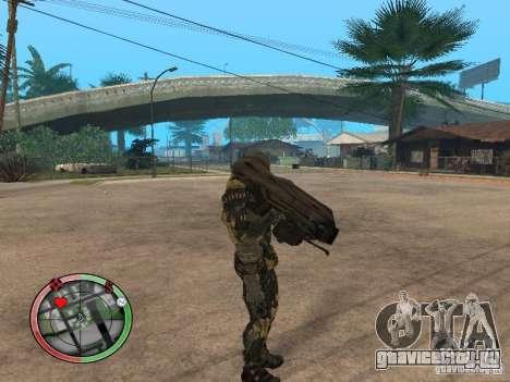 Оружие alien из Crysis 2 v2 для GTA San Andreas второй скриншот