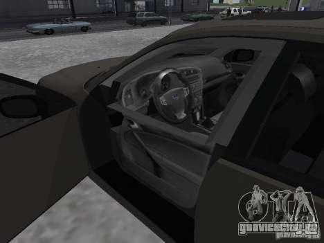 Saab 9-3 Turbo X для GTA San Andreas вид сзади слева