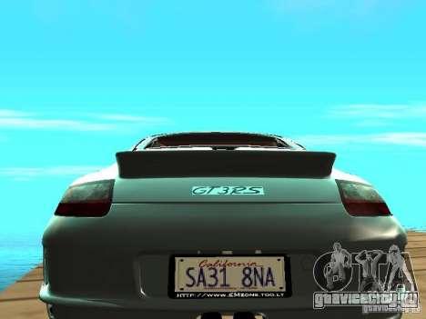 Porsche 997 GT3 RS для GTA San Andreas вид справа