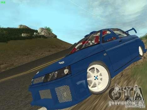 ВАЗ 2110 ADT Tuning для GTA San Andreas вид сбоку