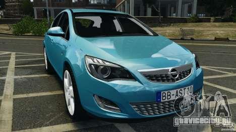 Opel Astra 2010 v2.0 для GTA 4
