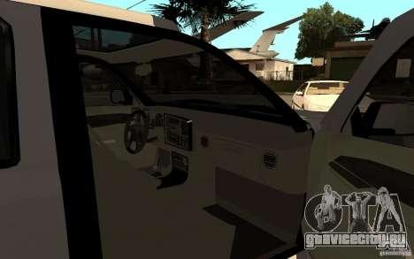 Cadillac Escalade pick up для GTA San Andreas вид сзади слева