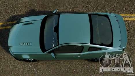 Ford Mustang Boss 302 2013 для GTA 4 вид справа