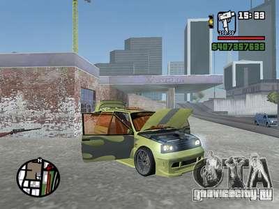 ОКА 1111 (Тюнинг) для GTA San Andreas салон
