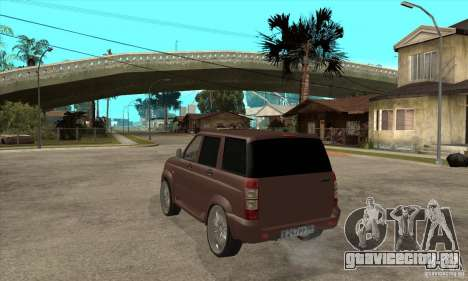 УАЗ Patriot для GTA San Andreas вид справа