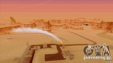 Тепловые ловушки для Hunter для GTA San Andreas третий скриншот