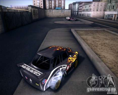 Trabant drag для GTA San Andreas вид сзади слева