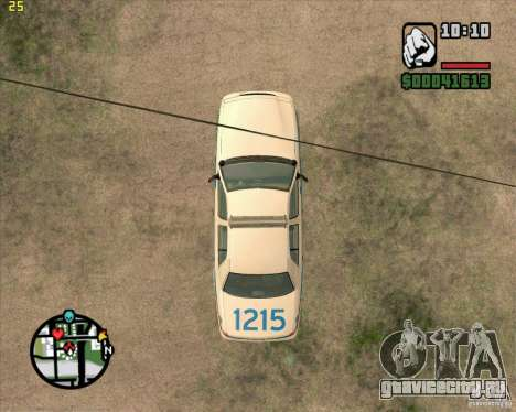 Ford Crown Victoria Baltmore County Police для GTA San Andreas вид сзади