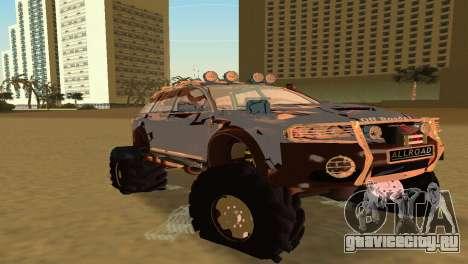 Audi Allroad Offroader для GTA Vice City вид слева