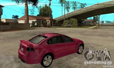 Chevrolet Lumina SS для GTA San Andreas вид справа