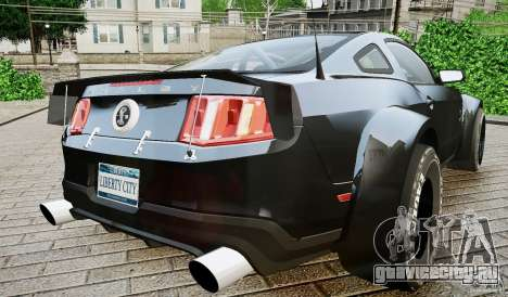 Ford Shelby GT500 для GTA 4 вид слева