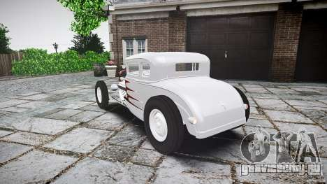 Ford Hot Rod 1931 для GTA 4 вид сзади слева