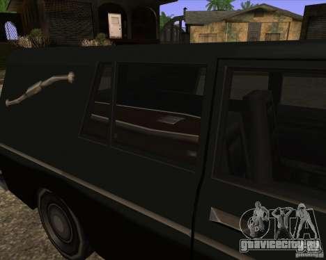 Coffin San Andreas Stories для GTA San Andreas вид сзади слева