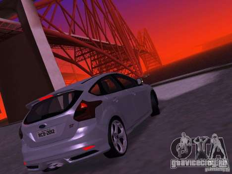 Ford Focus ST 2013 для GTA San Andreas вид справа