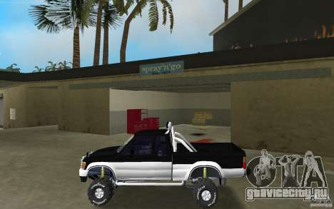 Toyota Hilux Surf для GTA Vice City вид слева