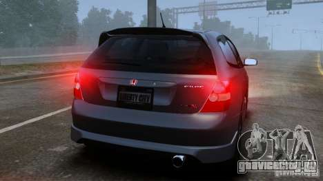 Honda Civic Type-R (EP3) для GTA 4 вид справа