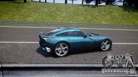 TVR Sagaris для GTA 4 салон