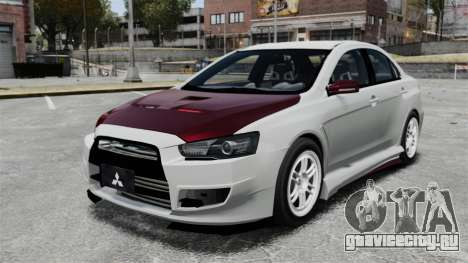 Mitsubishi Lancer Evolution X ToneBee Designs для GTA 4