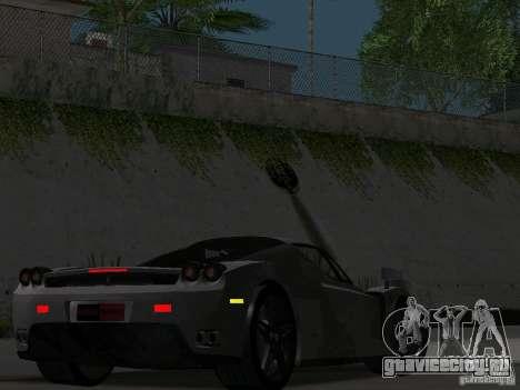 Ferrari Enzo Novitec V1 для GTA San Andreas вид изнутри