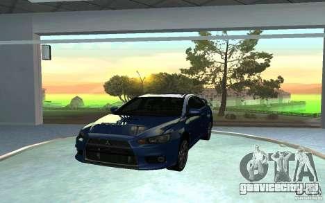 Автомобильный салон для GTA San Andreas