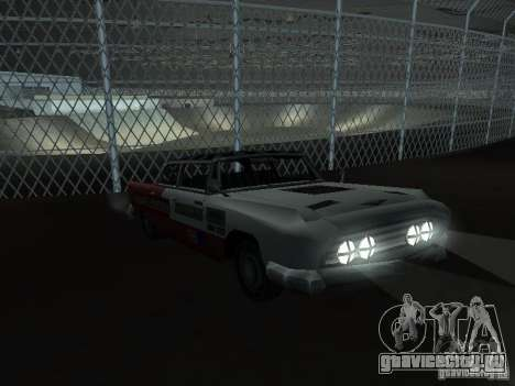 Bloodring Banger A из Gta Vice City для GTA San Andreas вид сверху