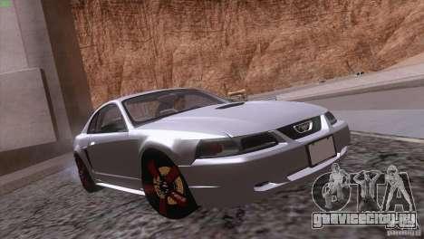 Ford Mustang GT 1999 для GTA San Andreas двигатель