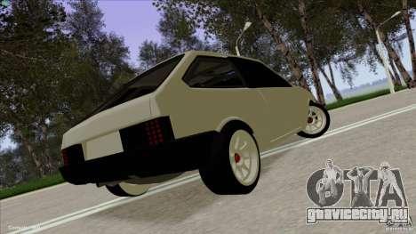 ВАЗ 2108 Sport для GTA San Andreas вид слева