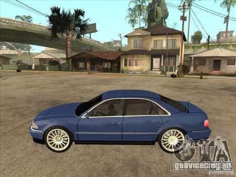 Audi A8 для GTA San Andreas вид слева