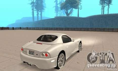 Panoz Esperante GTLM 2005 для GTA San Andreas вид слева