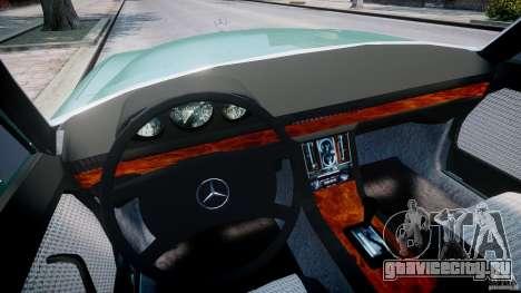 Mercedes-Benz 280SE W116 для GTA 4 вид сзади