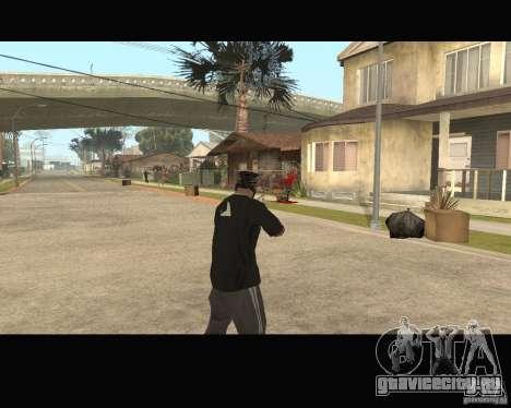 Sangue na tela v2 для GTA San Andreas третий скриншот