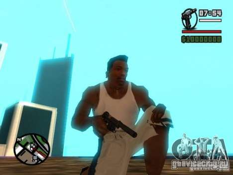 Gangster Weapon Pack для GTA San Andreas второй скриншот