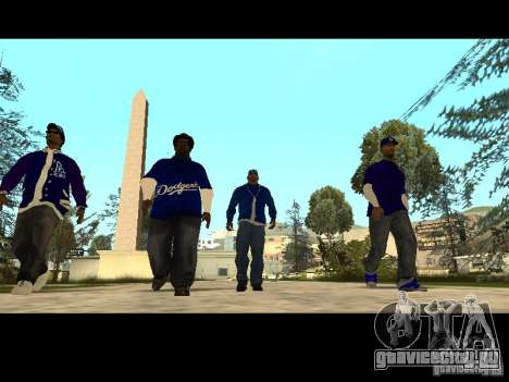 Piru Street Crips для GTA San Andreas одинадцатый скриншот