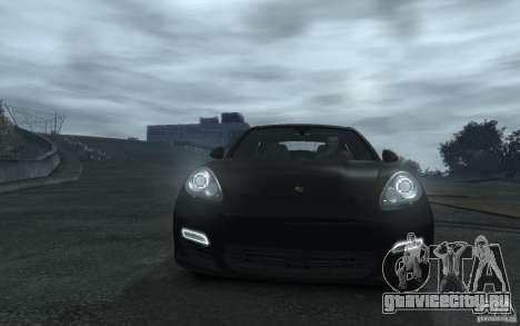 Porsche Panamera Turbo для GTA 4 вид сбоку