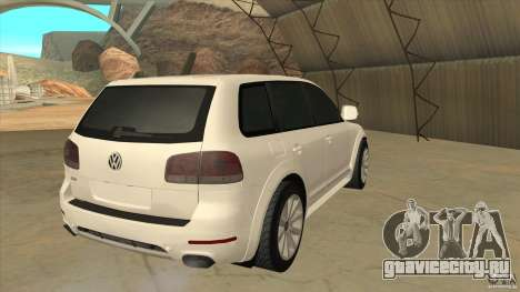 Volkswagen Touareg R50 для GTA San Andreas вид справа
