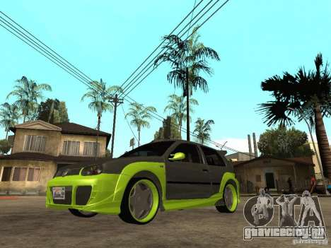 Volkswagen Golf IV R32 Tuned Juiced 2 для GTA San Andreas