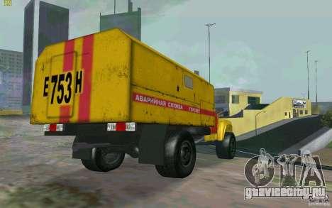 ЗиЛ 130 Ночной дозор для GTA San Andreas вид сзади слева