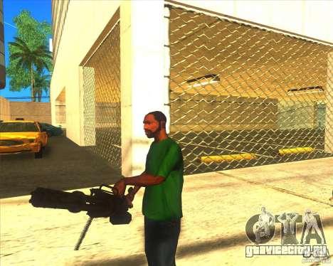 M134 minigan для GTA San Andreas